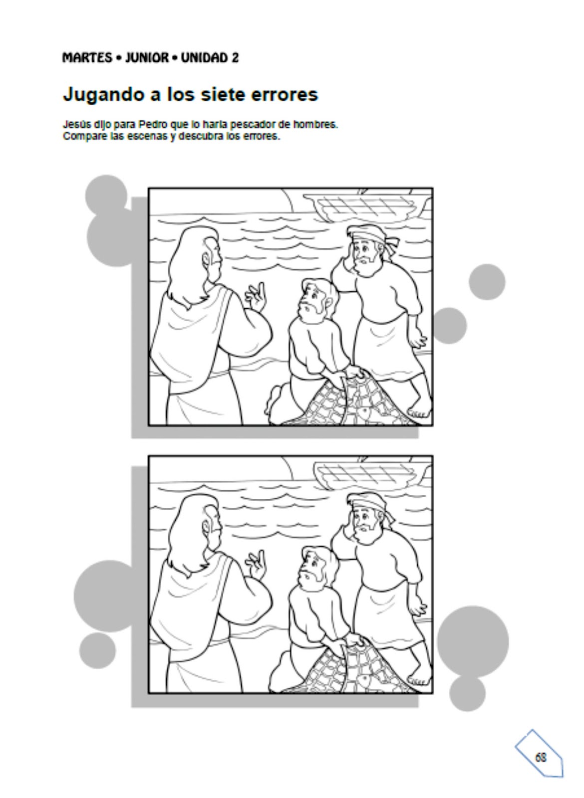 Historia: Pedro el pescador de gente ~ EBI Mexico