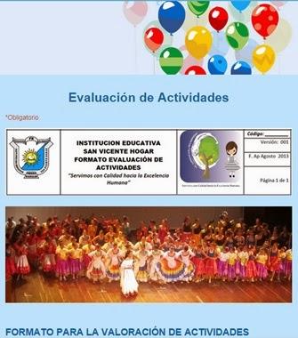 Evaluación Santiago Londoño