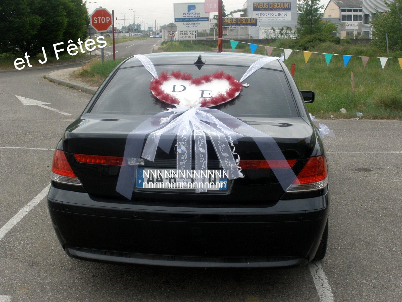 D coration voiture mariage - Decoration voiture marie ...