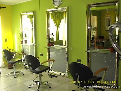 Decovera; mobliario de peluquería