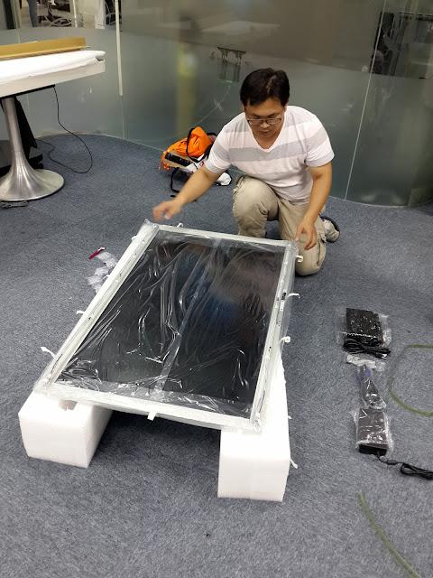 50吋透明螢幕