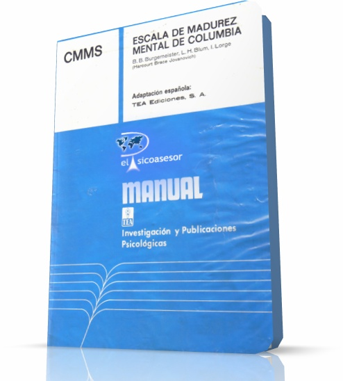 columbia mental maturity scale third edition Third, stability in language performance appears to strengthen over time  [the  columbia mental maturity scales as an individual test for normally  and mean  structures: the issue of partial measurement invariance.