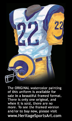 Los Angeles Rams 1979 uniform - St. Louis Rams 1979 uniform