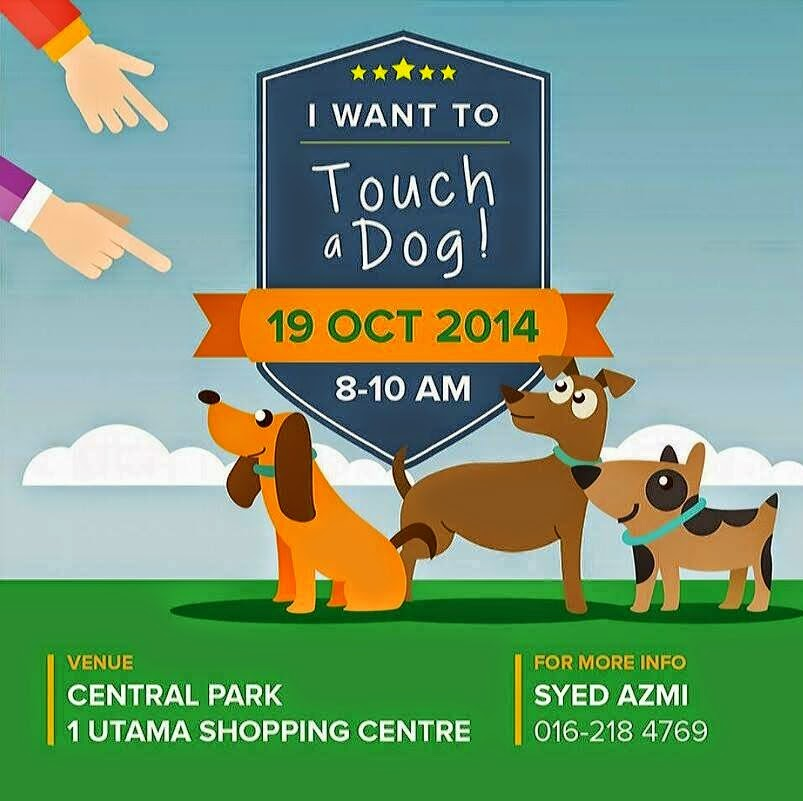Program I Want to Touch a Dog Disiasat JAKIM