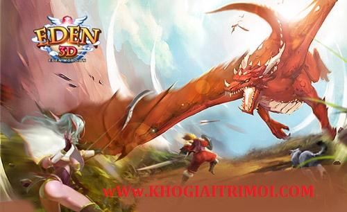 Sự kiện Triệu Hồi Chiến Thần nhận Linh Thú Cam game Eden 3D