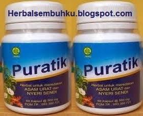 puratik 085755201000 obat herbal asam urat nyeri sendi