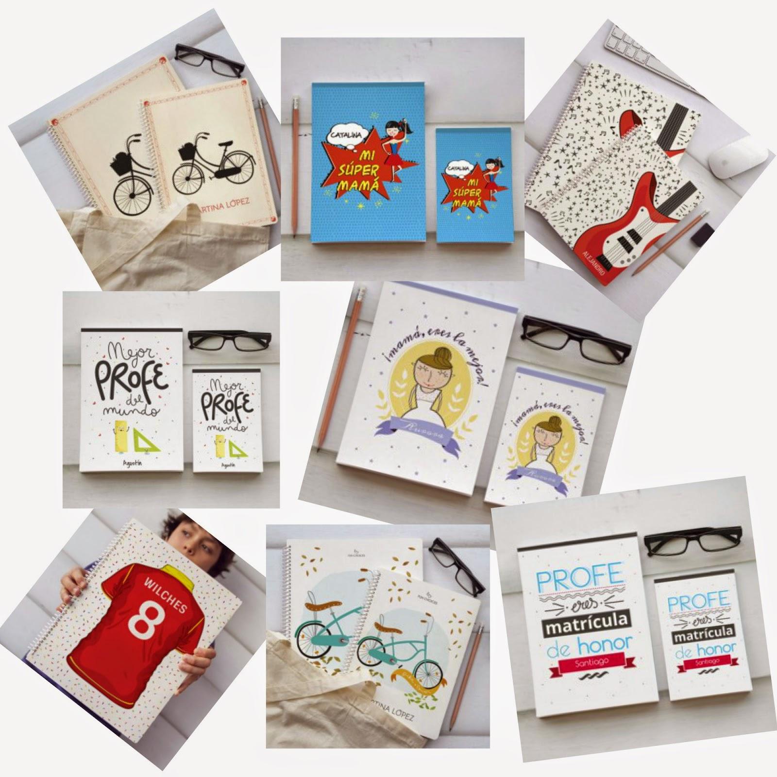 cuadernos y libretas personalizables fun choices