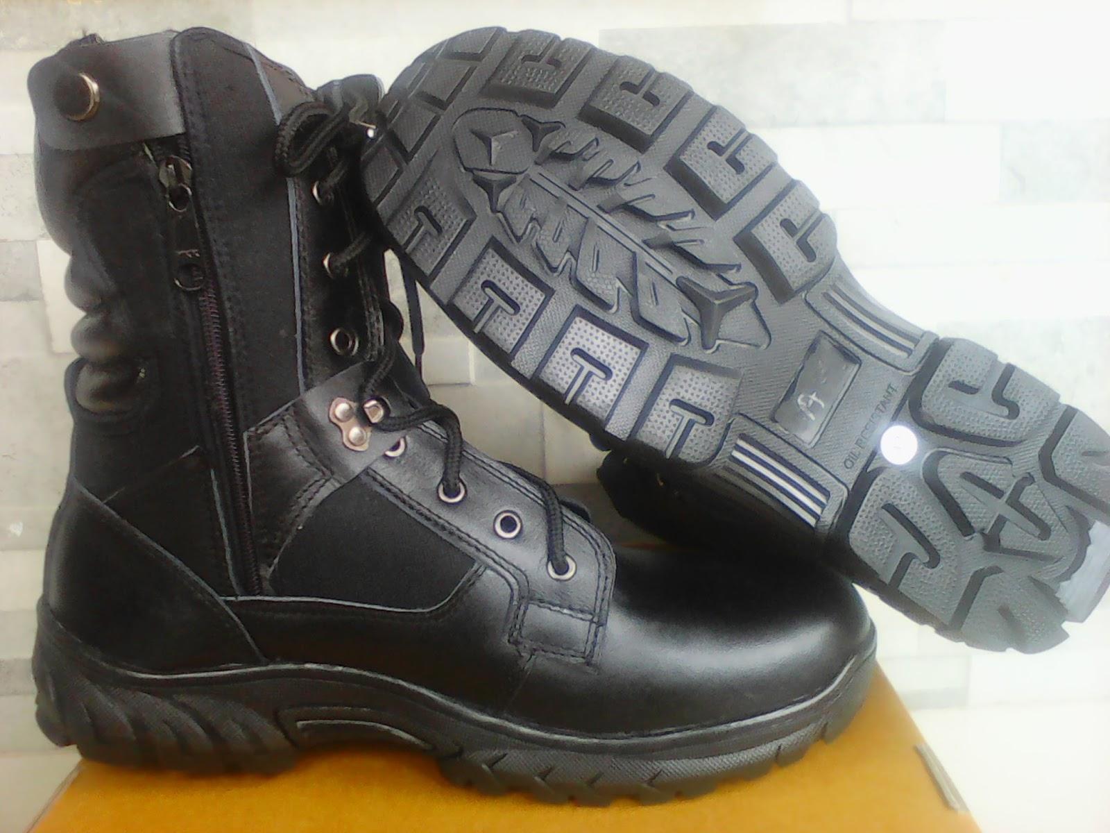 Harga Sepatu Pdh Tni Polri Dan Security Merk B2r Update Januari Tali Ressleting Mengkilap 2018 Zona Murah