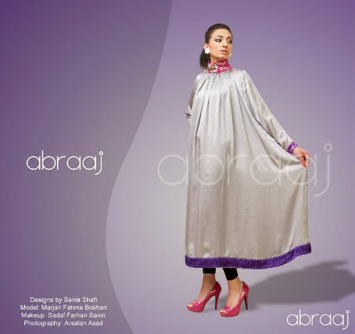 Abraaj Latest Formal Party Wear Collection 2013-2014 For Women By Fashion She9