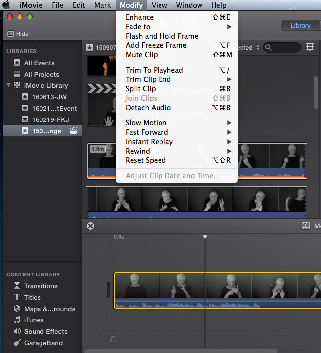 how to download clips from youtube to imovie