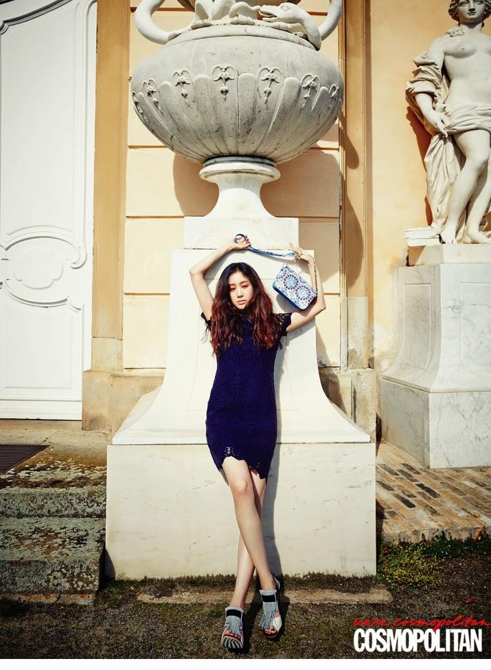 Jeong Ryeo Won - Cosmopolitan Magazine May Issue 2014