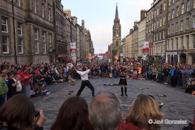 Fringe Festival, Edinburgh, August 2012