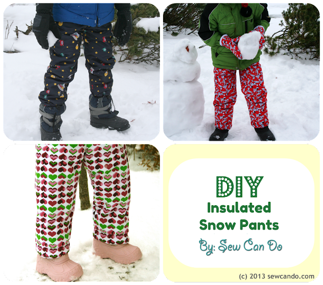 sew can do make your own snow gear part 1 diy snow pants