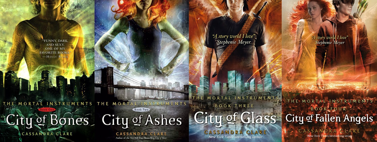 City of fallen angels book cover