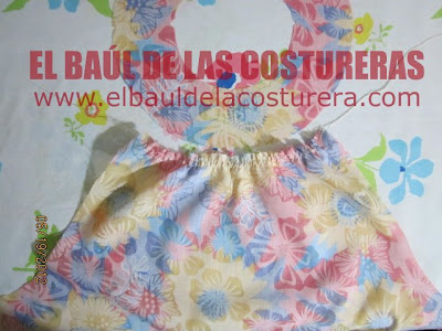 fruncir con doble costura