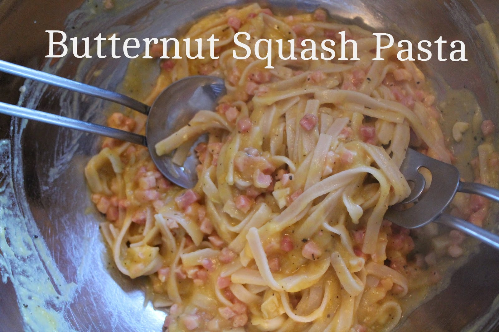 Pink and Fabulous: Gluten Free Butternut Squash Pasta