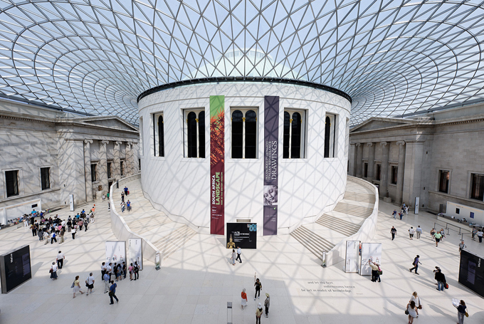 The british museum london england world for travel for Architecture londres