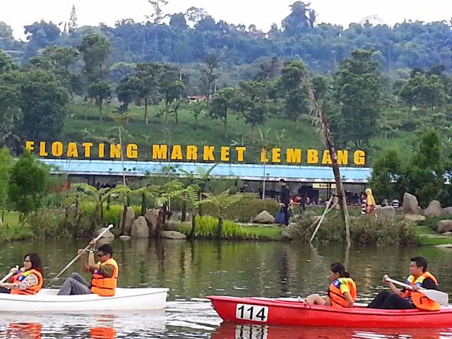 Posisi Floating Market Lembang-Letak Floating Market Lembang-Awal mula Floating Market Lembang-Sejarah Floating Market Lembang-Keunikan Floating Market Lembang