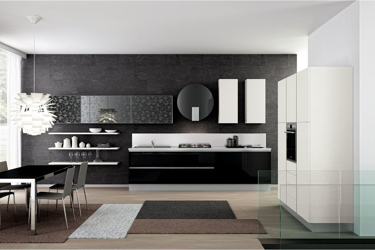 Decoracion Italiana Moderna ~ Hermosos dise?os de cocinas modernas  Colores en Casa