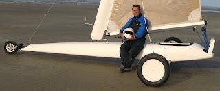 Pierre-Yves Gires Ch. d'Europe 2003 en char à voile Classe 2
