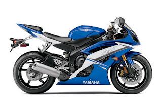 New Blue color Yamaha YZF-R6