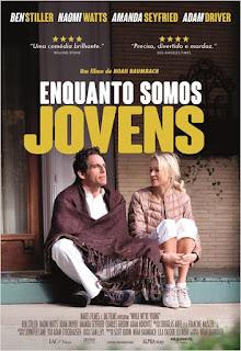 """Poster do filme """"Enquanto Somos Jovens"""""""