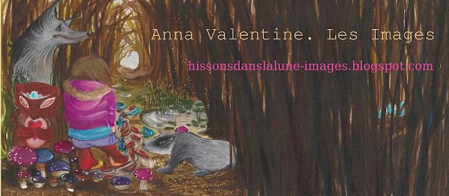 Anna Valentine. Les images.
