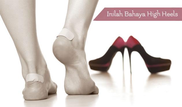 6 Bahaya High Heels Bagi Kesehatan
