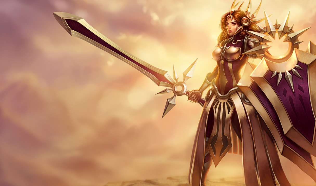 League of Legends: Leona Wallpapers (Chinese+American ...