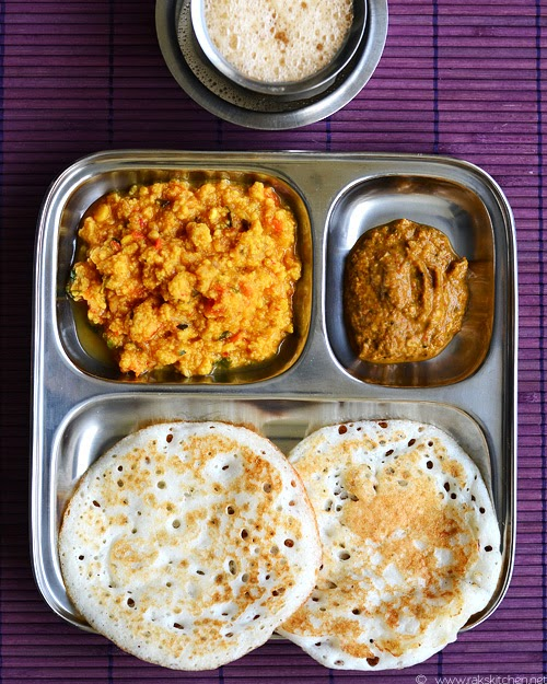 south indian breakfast menu ideas