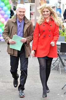 Holly Willoughby Leggy Candids