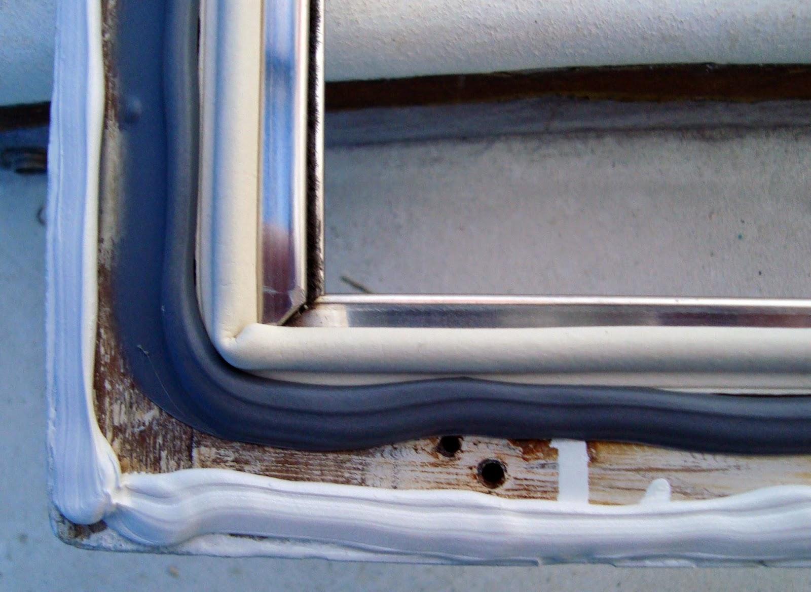 Tetting av Grand Banks vindu