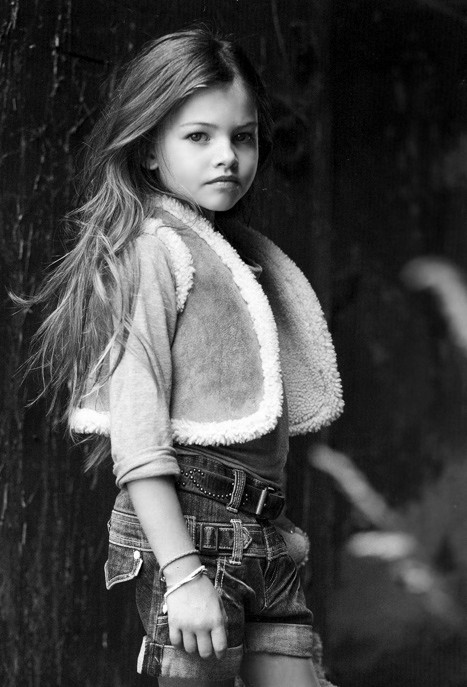 Pop culture and fashion magic child star thylane lena rose blondeau