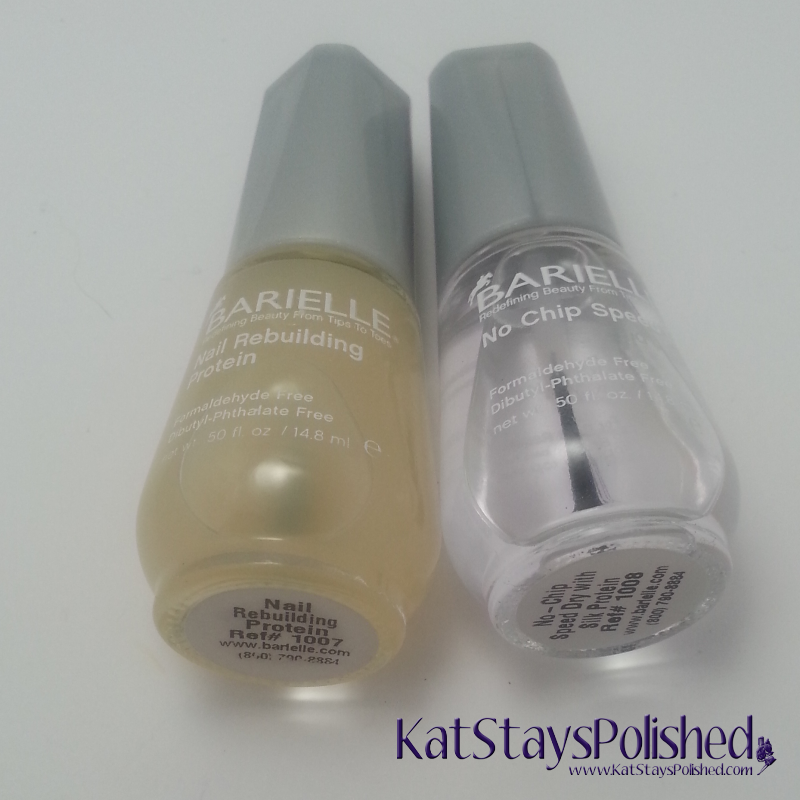 Prize from ColorSutraa: Barielle Base and Top Coat | Kat Stays Polished