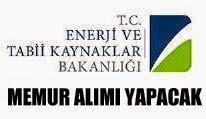 enerji ve tabii kaynaklar bakanlığı  iş ilanları