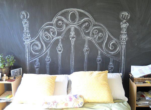 Vinilos cabecero cama decorar tu casa es - Cabezales de cama de diseno ...