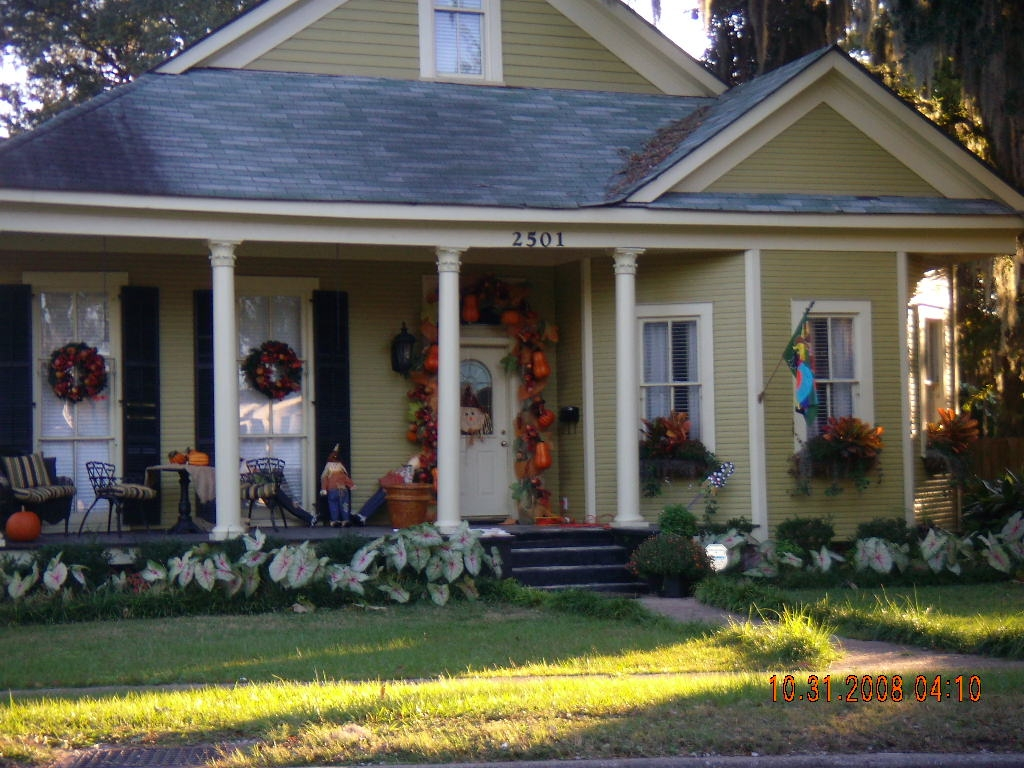 Autumn decor autumn crafts picture - Decorated houses ...