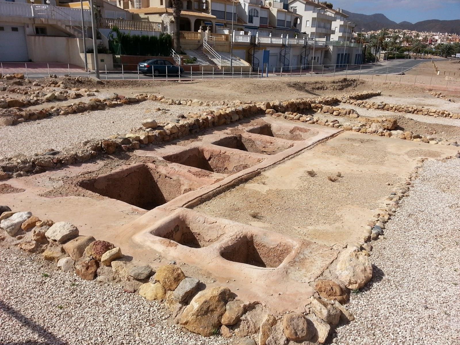 Baños Romanos Fortuna:El conjunto Romano del Alamillo
