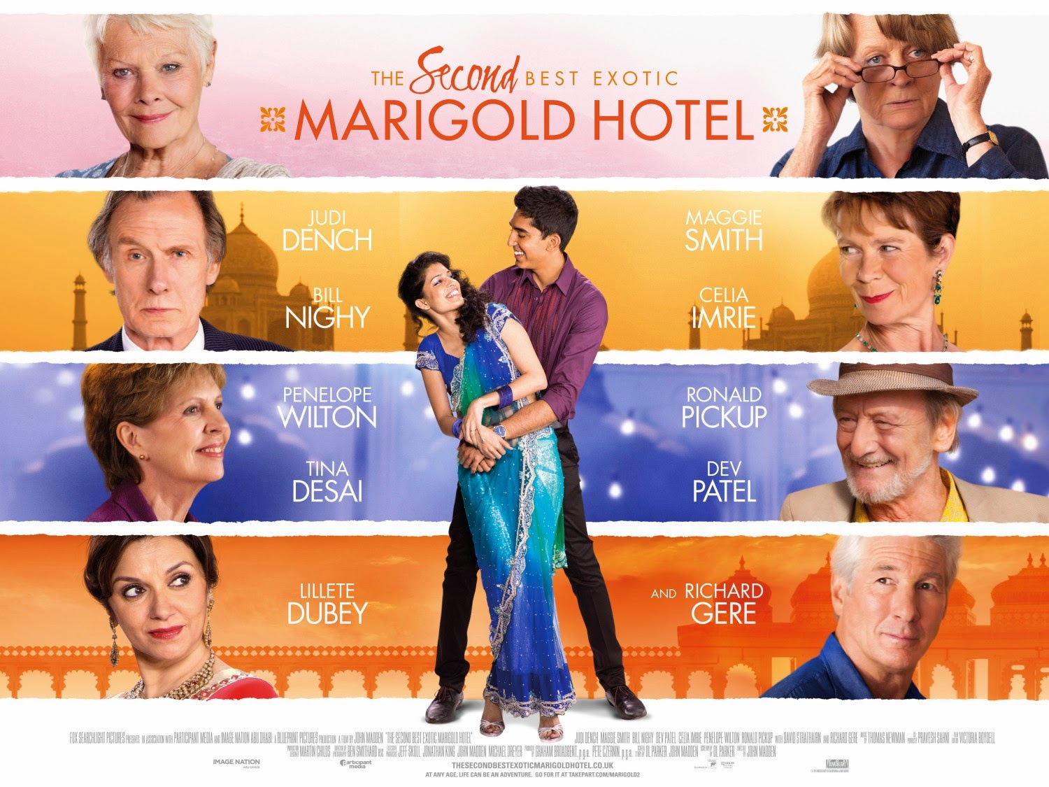 Film The Second Best Exotic Marigold Hotel (2015)