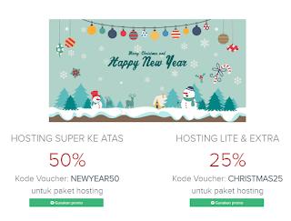 promo hosting tahun baru di domainesia
