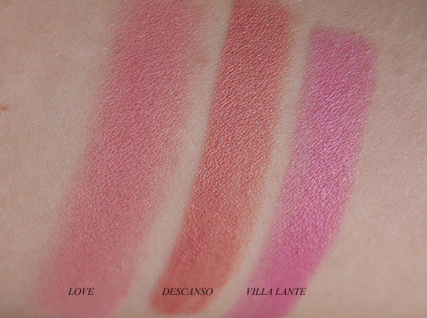 nars final cut swatches love descanso villa lane