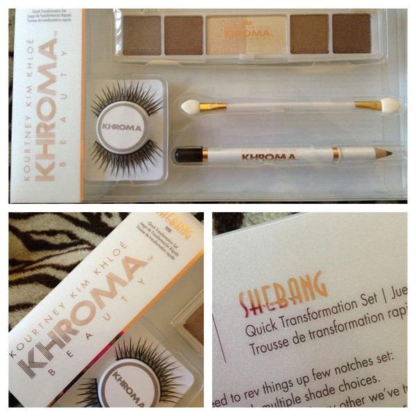 Sheer Beauty Khroma Beauty Shebang Eye Transformation Kit Review