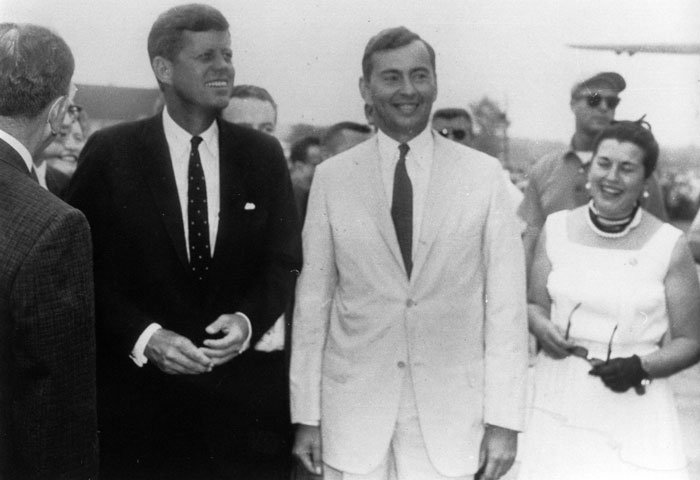 Gore con JF Kennedy