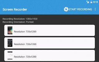 Lollipop Screen Recorder app Android