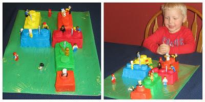 Lego cake, number 4