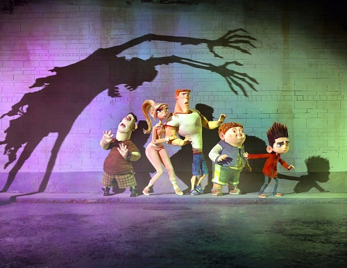 The cast of ParaNorman