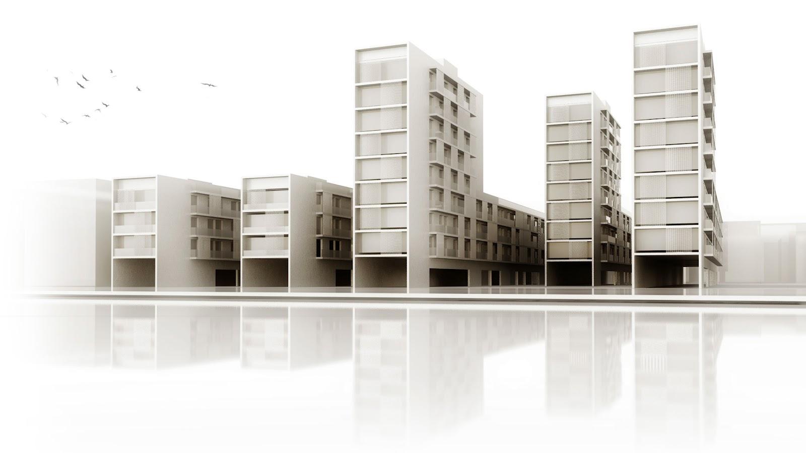 V m arquitectos valencia spain propuesta urbana barrio de - Arquitectos lorca ...