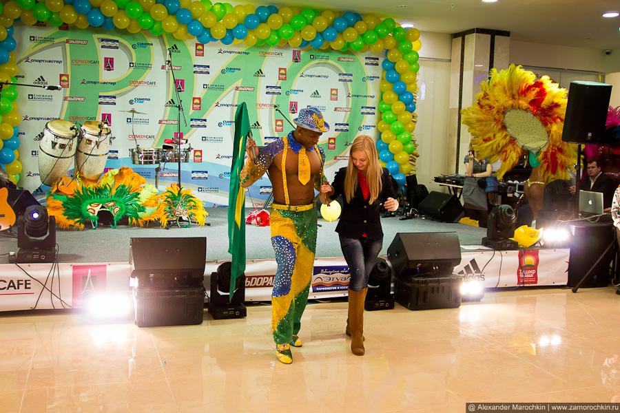 Мастер класс латиноамериканских танцев для зрителей от Terra Brasil Show