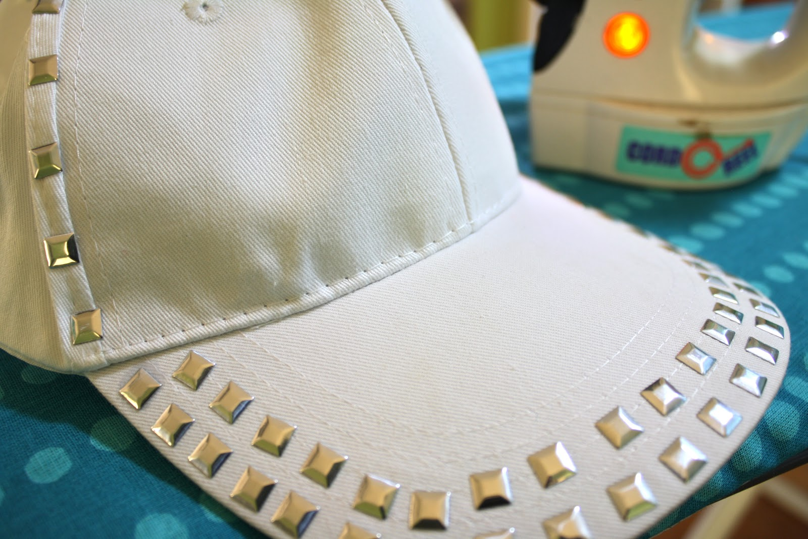 DIY Studded Baseball Cap - Ramblings with Rin 4e51b496f7a4