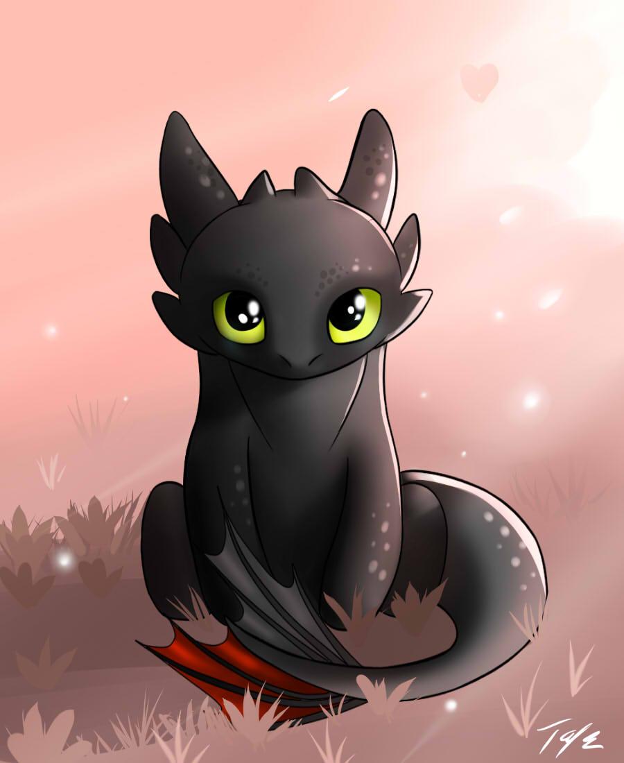 te gusta chimuelo? (como entrenar a tu dragon) De+Tenynn++-+C%C3%B3mo+entrenar+a+tu+Drag%C3%B3n+-+HTTYD+-+How+to+train+your+dragon+-+Toothless+-+Chimuelo